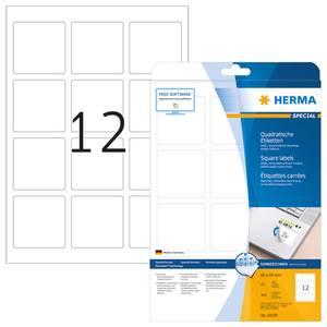 Bilde av MOVABLES avtagbare etiketter kvadrat 25 ark 60x60