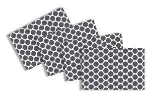 Bilde av Bordbrikker i plast, 45 x 30 cm, Dots (4 stk)