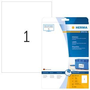 Bilde av Inkprint fotokvalitet etiketter, 25 ark, A4,