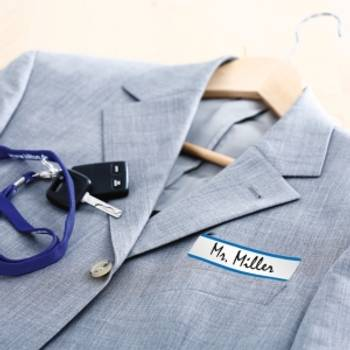 Bilde av Etiketter for klær
