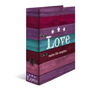 Bilde av HERMA ringperm i kartong, A4, Woody Love (10